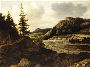 Mountainous River Landscape