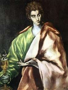 Apostle St John the Evangelist
