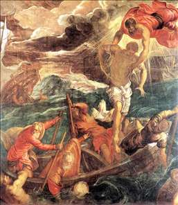 St. Mark Saving a Saracen from Shipwreck