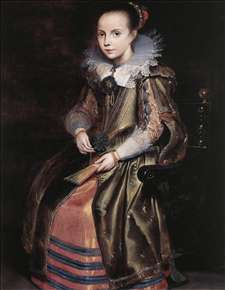 Elisabeth (or Cornelia) Vekemans as a Young Girl