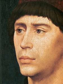 Portrait of Antony of Burgundy (detail)
