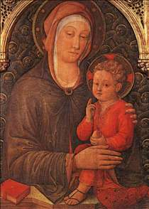 Madonna and Child Blessing