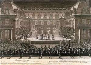 Performance of Alceste in 1674