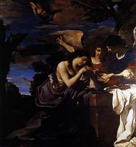 Magdalen and Two Angels