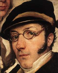 Self-Portrait in a Group of Friends (detail)