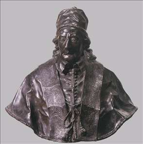 Bust of Pope Clement XII