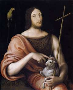 Portrait of François I as St John the Baptist
