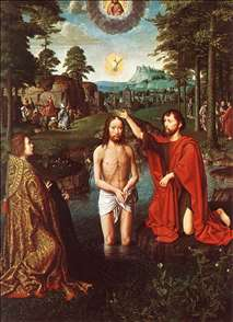 Triptych of Jean Des Trompes (central)