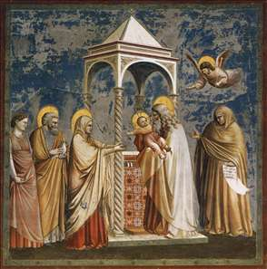 No. 19 Scenes from the Life of Christ: 3. Presentation of Christ at the Temple