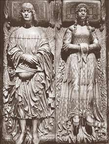 Effigies of Lodovico Sforza and Beatrice d'Este