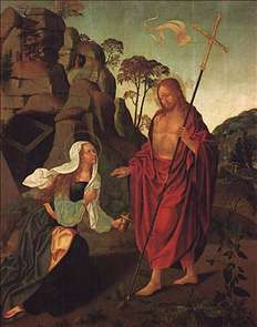 Apparition of Christ to Magdalen