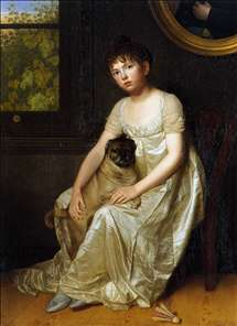 Portrait of Sylvie de la Rue