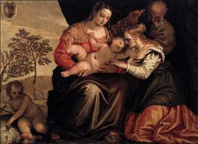 Mystic Marriage of S Catherine