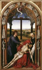 Miraflores Altarpiece (central panel)
