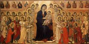Maest� (Madonna with Angels and Saints)