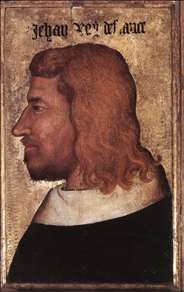 Portrait of Jean le Bon, King of France