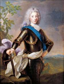 Portrait of Louis XV