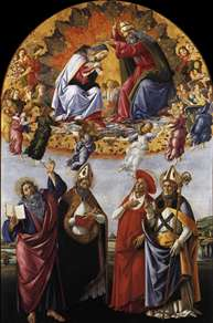Coronation of the Virgin (San Marco Altarpiece)