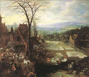 Flemish Market and Washing Place