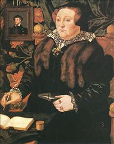 Portrait of Lady Dacre