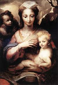 Madonna with the Infant Christ and St John the Baptist