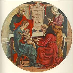 Circumcision (from the predella of the Roverella Polyptych)