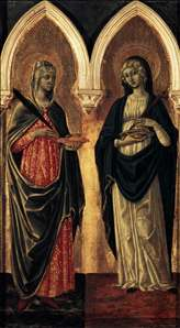 Sts Agatha and Lucy