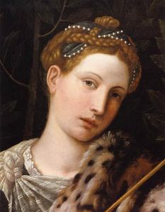 Portrait of Tullia d'Aragona as Salome (detail)