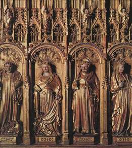 Saints from an Altarpiece