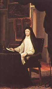 Queen Mariana de Austria as a Widow