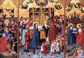 Altarpiece of the Seven Joys of Mary
