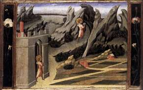 St John the Baptist Goes into the Wilderness