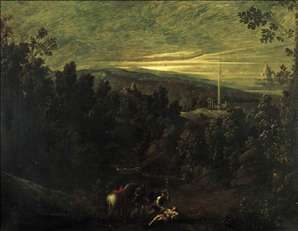 Landscape with the Good Samaritan
