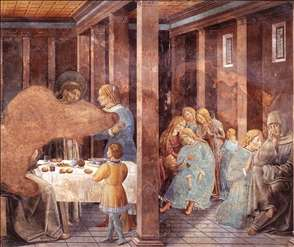 Scenes from the Life of St Francis (Scene 8, south wall)
