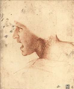 Head of a Warrior ('The Red Head')