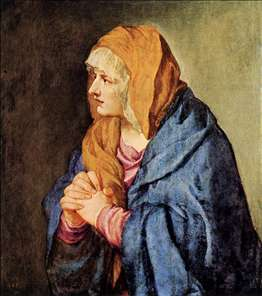 Mater Dolorosa (with clasped hands)