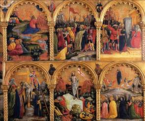 Passion Polyptych (detail)