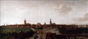 View of Delft from the Southwest