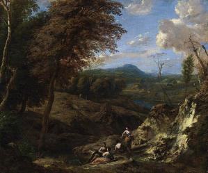 Wooded Hilly Landscape