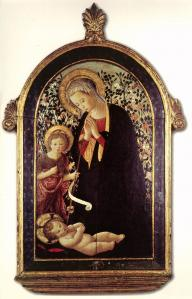 Adoration of the Child with the Young St John