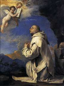 Vision of St Bruno
