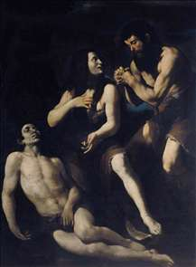 Lamentation of Adam and Eve on the Dead Abel