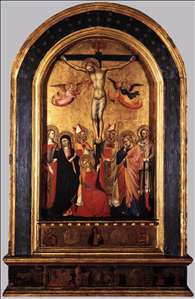 Crucifixion with the Virgin and Saints