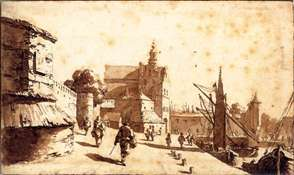 The Schiedam Gate at Delft