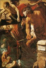 The Martyrdom of St Matthew