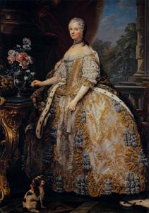 Portrait of Marie Leszczynska, Queen of France