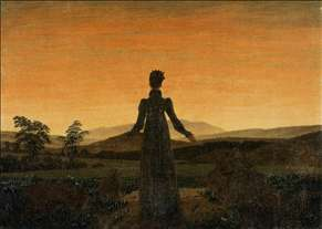 Woman before the Rising Sun (Woman before the Setting Sun)