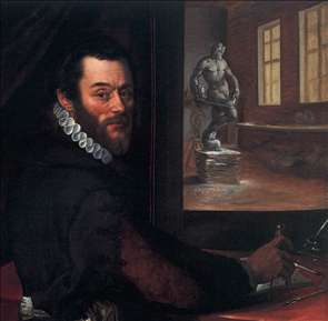 Portrait of Giambologna in his Studio