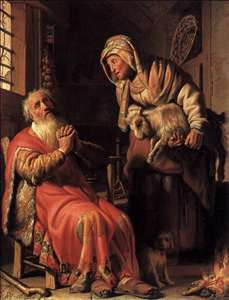 Tobit Accusing Anna of Stealing the Kid