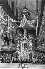 Funeral Pomp of the Dauphine, Marie-Th�r�se of Spain
